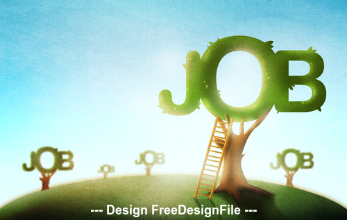 Jobs HD wallpaper stock photo
