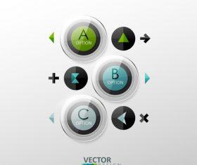 Letter glass graphic design vector