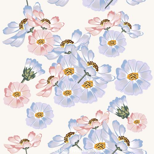 Nice floral design vector