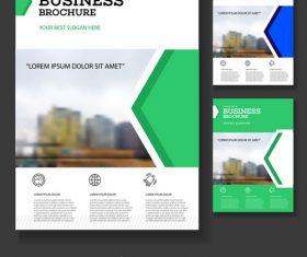 Real estate Brochure cover design vector