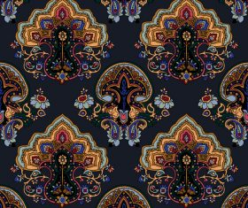 Seamless pattern ornament vector