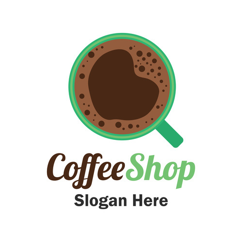 Strong coffee cover vector
