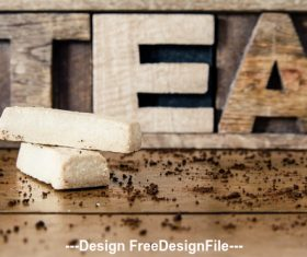 Tea Design Stock Photo