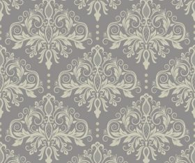 Vintage decorative floral element pattern vector