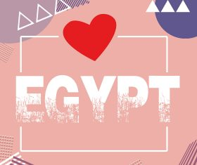 egypt love stock photo