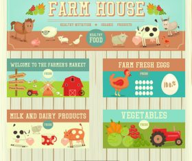 farm site vector