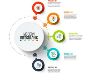 infographics number vector