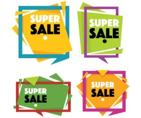 sale templates vector