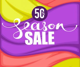 season sale vector