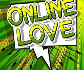 wordaaaa online love vector