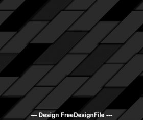 Abstract black geometric tiles hi tech background vector