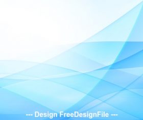 Abstract blue background with line Vector illustration