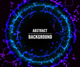 Abstract circles background vector illustration
