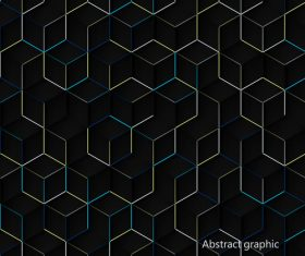 Abstract diamond background pattern vector