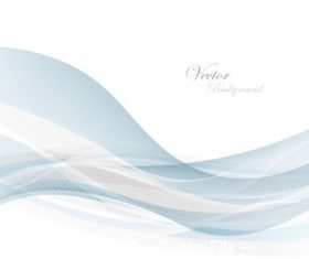 Abstract gray waves data stream concept Vector