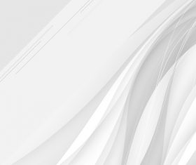 Abstract white waves data stream concept Vector