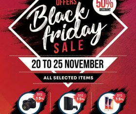 Black Friday Sale psd template