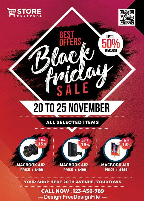 Black Friday Sale psd template