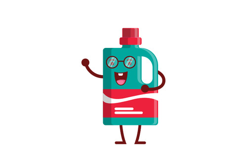 Bottle cartoon vector
