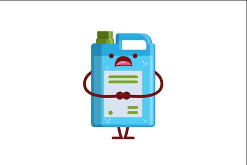 Bucket expression cartoon vector