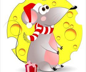 Celebrating 2020 rat new year illustration vector