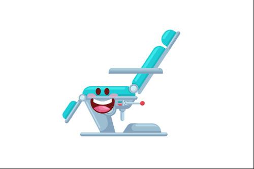 Chair cartoon vector