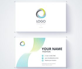 Design your own business card vector