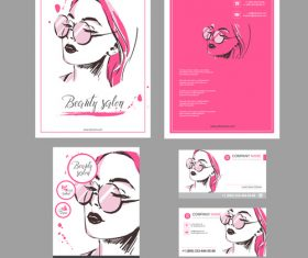 Fashion brochure and leaflet design vector