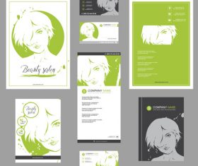 Fashion template poster design vector