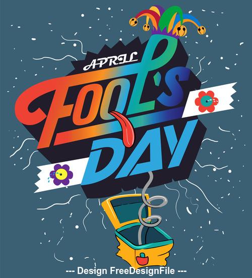 Fools Day Vector Illustration 02