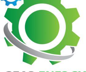 Gear Energy Logo vector