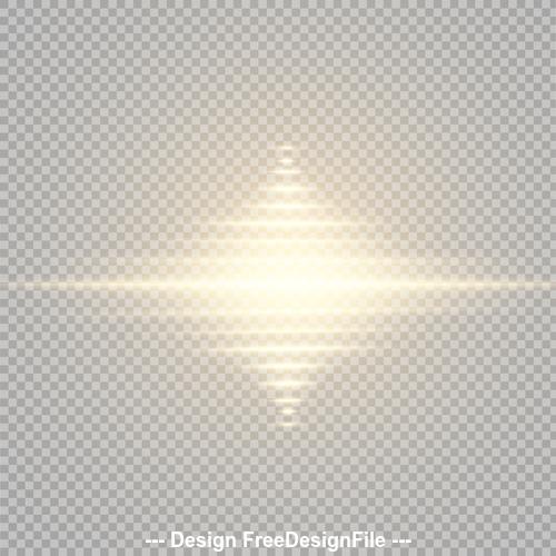 Glow Light Effect vector