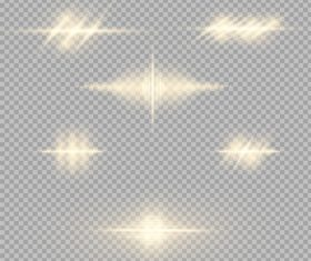 Gray checkered background glow light effect vector