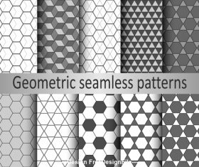 Hexagonal diamond seamless pattern vector