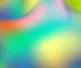 Holographic liquid smooth abstract waves vector