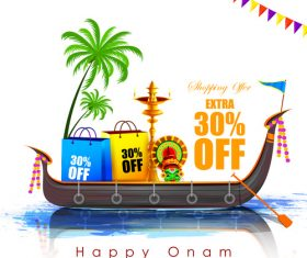 India holiday promotion vector