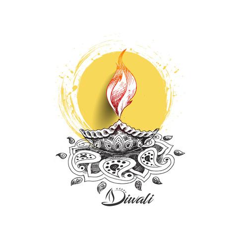 Indian Diwali vector