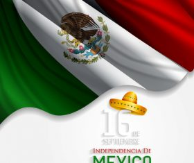Mexico national day vector