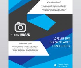 Modern brochure vector