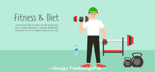 Muscle exercise vector