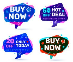 Only today big sale tag vector