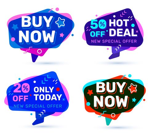 Only today big sale tag vector free download