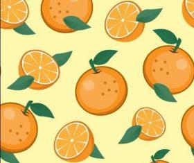 Orange background seamless pattern vector