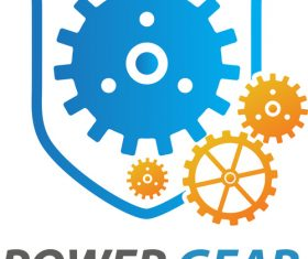 Power Gear Logo vector