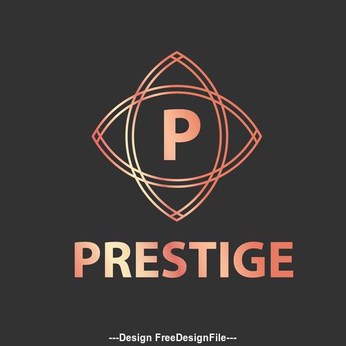 Prestige logos in vector