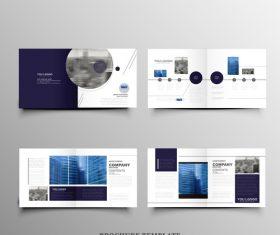 Real estate brochure leaflet vector