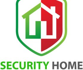 Security Home Logo vector