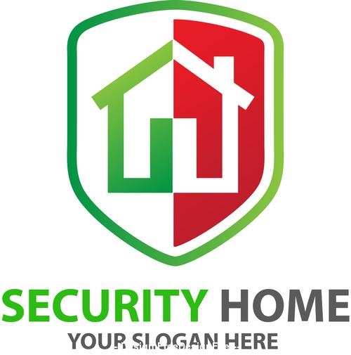 Security Home Logo vector
