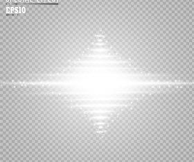 Special glow light effect vector