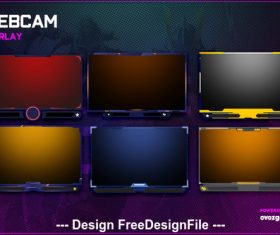 Stream Package psd template
